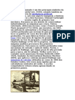 O tear mecanizado é um dos principais símbolos da Revolução Industrial