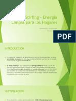 2- Presentaciòn Motor Stirling - Energía Limpia Para Los Hogares