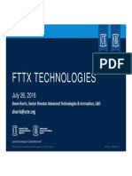 Chapter Presentation FTTx Technologies