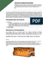 Motor de Combustion Interna - Clase 1