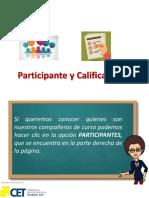 4 - Participantes y Calificaciones