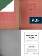 Cuadernos Uruguayos de Filosofia.1968.t5