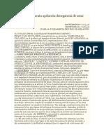 Modelo Fundamenta Apelación Denegatoria de Semi Libertad
