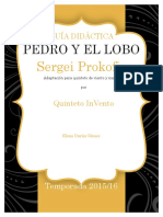 Pedro y El Lobo guía didáctica