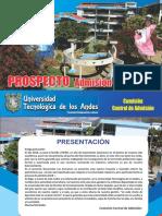 PROSPECTO-ADMISION-2018
