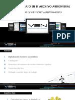 Flujos de Trabajo en El Archivo Audiovisual