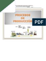 Procesos de Produccion y Tipos