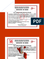Plantilla Tarjetas de Invitacion