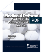 Medicaid Exchange Reform Plan