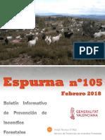 Boletín Espurna febrero de 2018