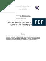 Taller de DualSPHysics _