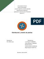 Diseño y Distribucion de Plantas