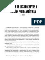Skinner - Crítica de Los Conceptos y Teorías Psicoanalíticas