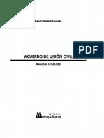 Acuerdo de Unión Civil - (Carlos Garrido Chacana) 2015