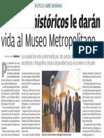 11-04-18 Acervos históricos  le darán  vida al Museo Metropolitano