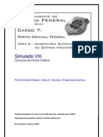 Simulado VIII - Perito Criminal Federal - Área 6