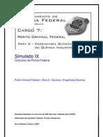 Simulado IX - Perito Criminal Federal - Área 6