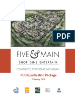 """""""Five and Main"""" Development Detail Package"""