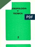 Antropología y técnica. v2