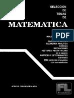 Selección de Temas de Matemática 5 - Jorge Gid Hoffmann-BN-76rs5xc78gi7vgo9gfu