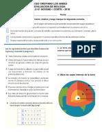 Evaluacion Noveno Liceo Cristiano Los Andes