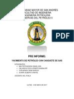 Preinforme de Casquete de Gas