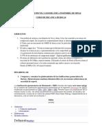 POSGRADO GEOTECNIA Y GEOMECÁNICA INGENIERÍA DE MINAS CURSO DE MECANICA DE ROCAS