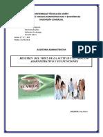 GRUPO 4_ALARCON_DUEÑAS_FARINAGO_JATIVA_Resumen Del Virus de La Actitud y El Proceso Administrativo y Sus Funciones