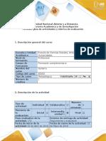 1.Guía de actividades y rúbrica de evaluación  Unidad 1- Fase 1