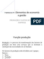 Palestra 5 Elementos de Economia e Gestao