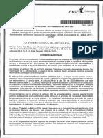 Acuerdo No. 20171000000116 -  Convocatoria 436 de 2017