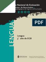 Lengua - Pedagogía