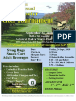 Copy of Golf Tournament Flyer