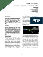 Artigo - 2013 - Controle de Velocidade e Automação Do Sistema de Frenagem de Vagões