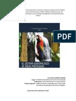 Política Nacional y Estratégias Para El Desarrolllo de Sistema Guatemalteco de Áreas Protegidas.