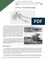 Cannoni Da Campo 105mm Wz.1913 e Wz.1929 Polacchi