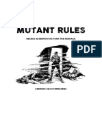 MUTANT RULES - Regras Alternativas Para the RadHack