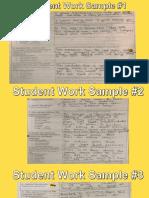 argumentative essays work samples