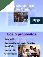 Ideas para Celebrar el Culto Familiar.ppt