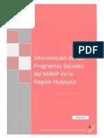 INTERVENCION PROGRAMAS SOCIALES
