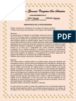 9° GUIA FILO DEMOCRACIA MODERNA
