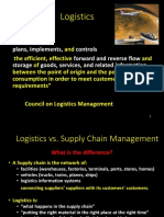 Week 4 Introductio to Logistics