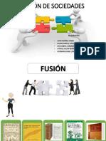 Comercial Diapositivas fusión y escision