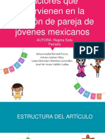 Factores que intervienen en la elección de pareja de jóvenes mexicanos por Regina Soto Ferreras