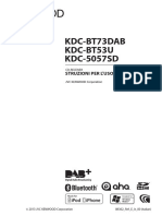 Autoradio Kenwood Metodo KDC-BT53