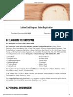 Loblaw Card Program Registration