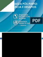 t1 Hemorragia Pós Parto Relevancia e Desafios Opas v Final
