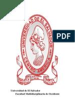 Salud Comunitaria en La Universidad de El Salvador