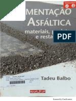 Balbo PAVIMENTAÇão LIVRO cap 01
