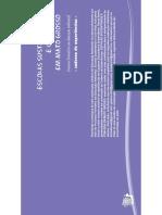 ESCV-UFMT Caderno de Experiencias